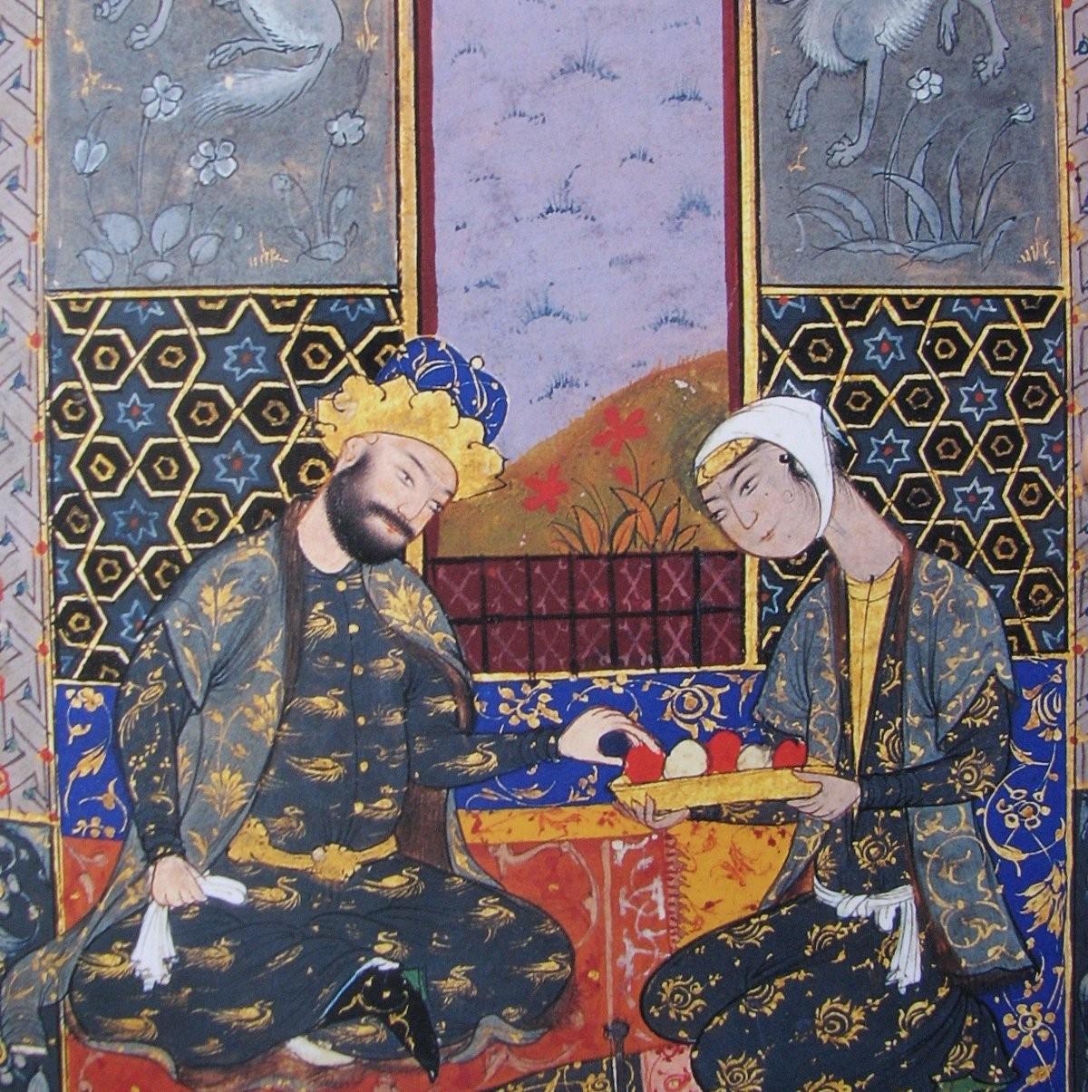 Обязательный подарок в персии на 572